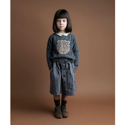 Tiger Jacquard-Knit Sweater - Kids Edition