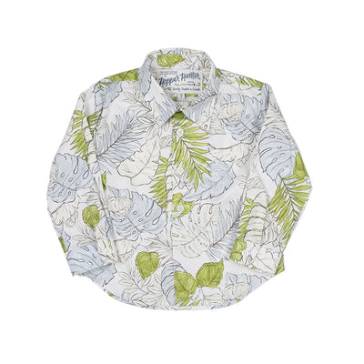 Faded Flora Long Sleeve Hopper Shirt - Kids Edition