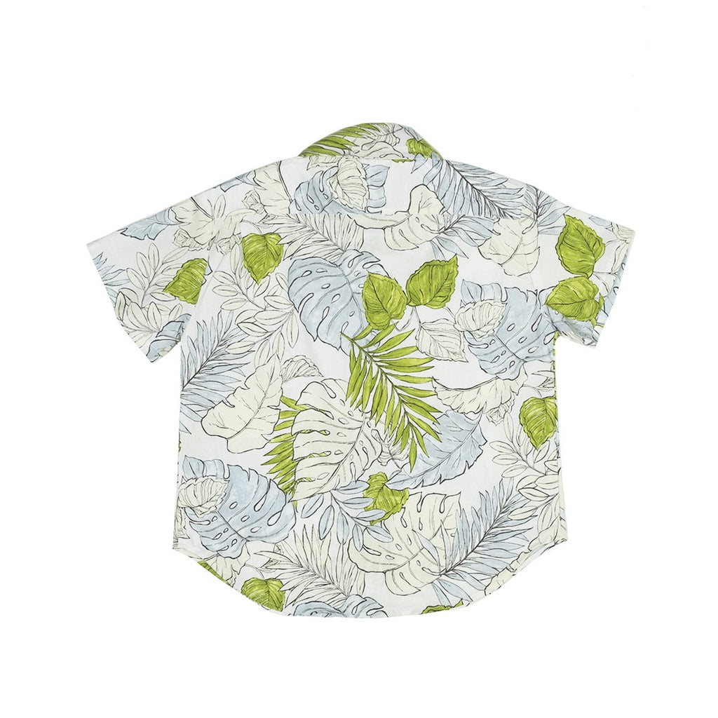 Faded Flora Short Sleeve Hopper Shirt - Kids Edition
