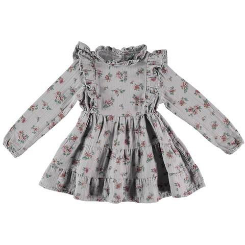 Flower Print Dress - Kids Edition