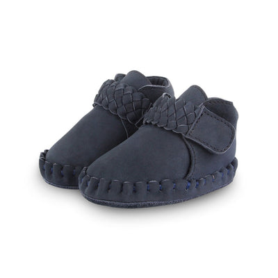 Fons - Navy Nubuck - Kids Edition