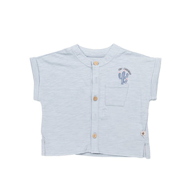 Light Blue Daniel Shirt - Kids Edition