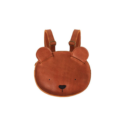 Kapi Backpack - Bear - Donsje,  a designer children shoes and accessories brand based in Amsterdam, Netherlands. Carried by Kids Edition, the best online designer children clothing boutique based in Vancouver, Canada.