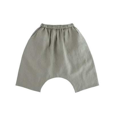 Khaki Natural Baggy Pants - Kids Edition