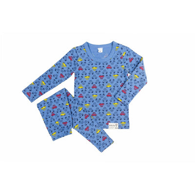 Blue Car Sleepwear - Kids Edition