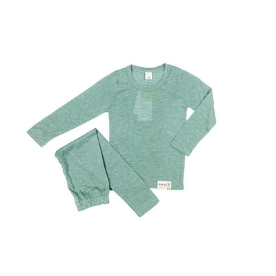 Green Super Soft Sleepwear - Kids Edition