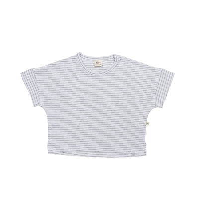 Light Gray Strip T-Shirt - Kids Edition