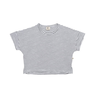 Dark Gray Strip T-Shirt - Kids Edition