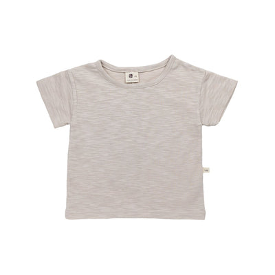 Beige Dinosaur Short Sleeve Tee - Kids Edition