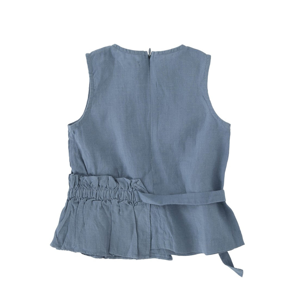 Linen Peplum Set - Kids Edition