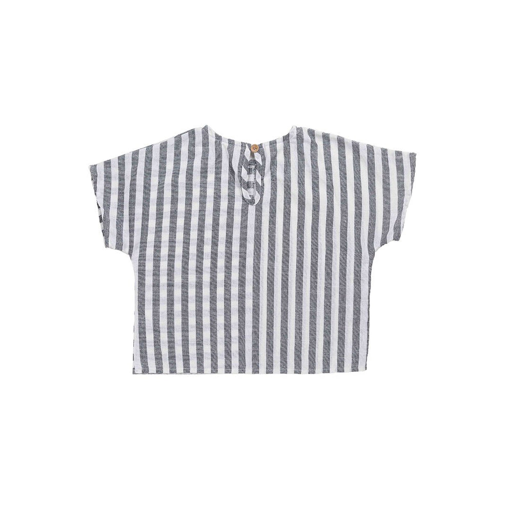 Gray Strip Shirt - Kids Edition
