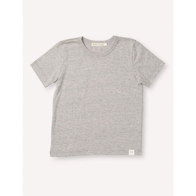 Sasha Classic Tee - Heather Grey - Kids Edition
