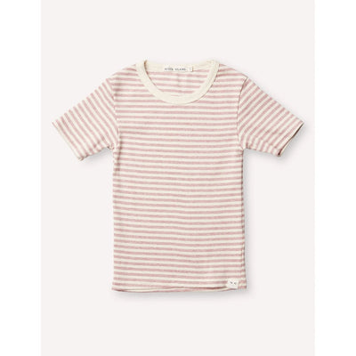 Pascal Slim Tee - Pink/Cream - Petits Vilains,  a designer children shoes and accessories brand based in Barcelona, Spain. Carried by Kids Edition, the best online designer children clothing boutique based in Vancouver, Canada.