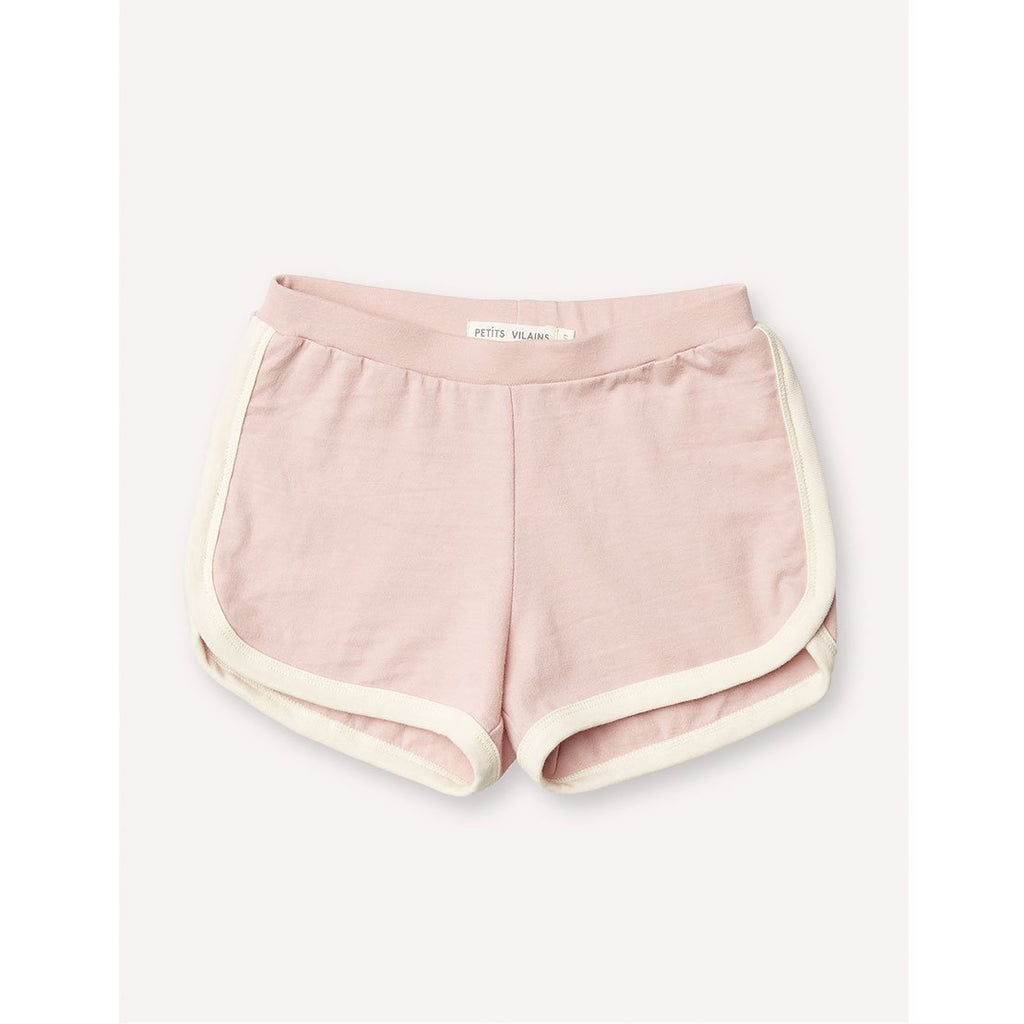 Francoise Gym Shorts - Pink/Cream - Kids Edition
