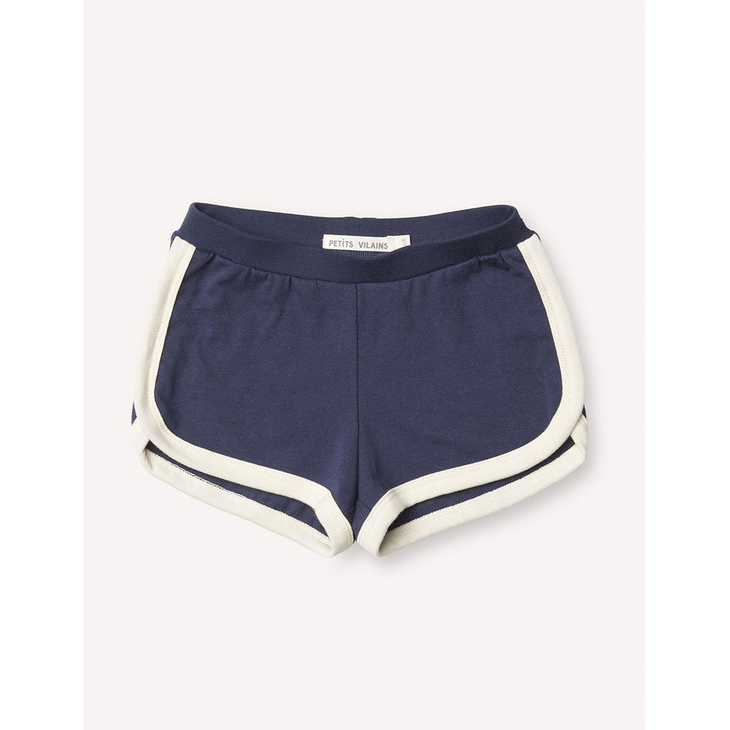 Francoise Gym Shorts - Marine/Cream - Kids Edition