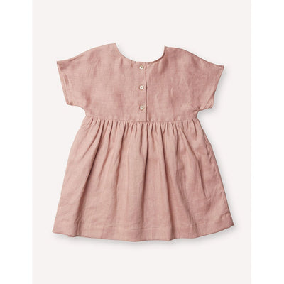 Marie Everyday Dress - Tea Rose - Petits Vilains,  a designer children shoes and accessories brand based in Barcelona, Spain. Carried by Kids Edition, the best online designer children clothing boutique based in Vancouver, Canada.