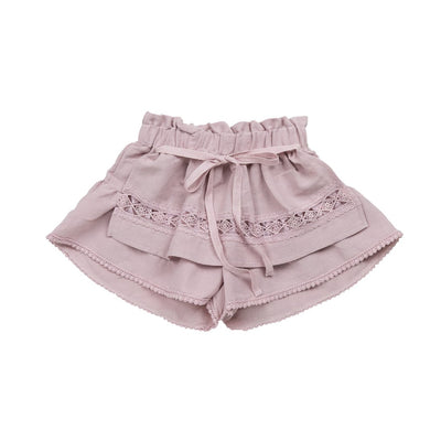 Pink Willow Apron Pants - Puella Flo, Carried by Kids Edition, Vancouver, Canada