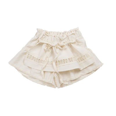 Beige Willow Apron Pants - Puella Flo, Carried by Kids Edition, Vancouver, Canada