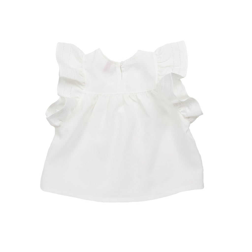 White Mulla Blouse - Kids Edition