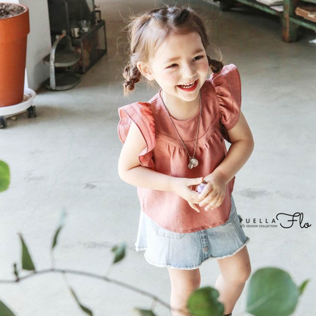Cherry Mulla Blouse - Kids Edition