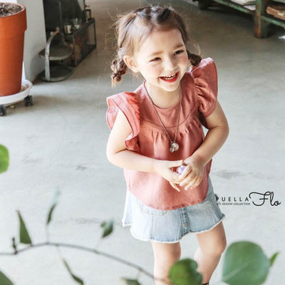 Cherry Mulla Blouse - Puella Flo, Carried by Kids Edition, Vancouver, Canada