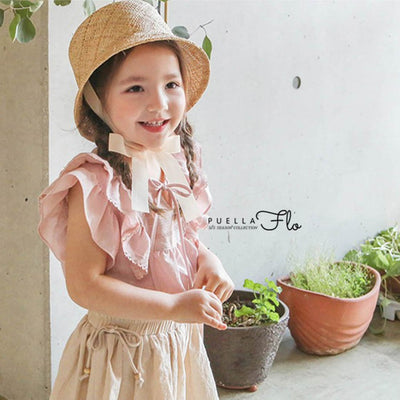 Pink Adorable Blouse - Puella Flo, Carried by Kids Edition, Vancouver, Canada
