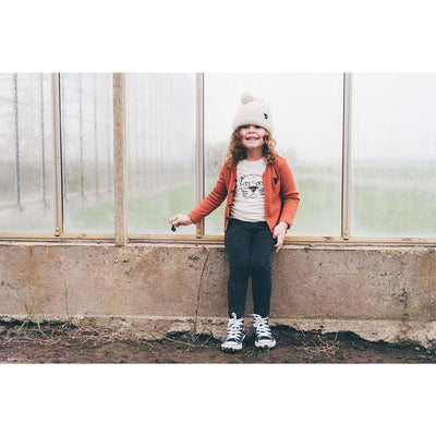 Rib Jersey Cardigan - Kids Edition