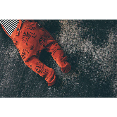 Velvet Sweat Footie Chameleon - Kids Edition
