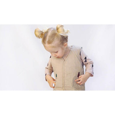 Umbrella Vertical Stripe Longsleeve Pajama Set - Kokacharm, Carried by Kids Edition, Vancouver, Canada