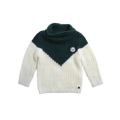 Dark Forest Green Milk Pullover - Kids Edition