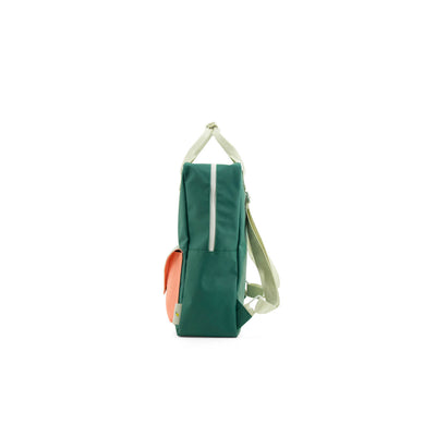 Large Grass Green Backpack Envelope - Kids Edition