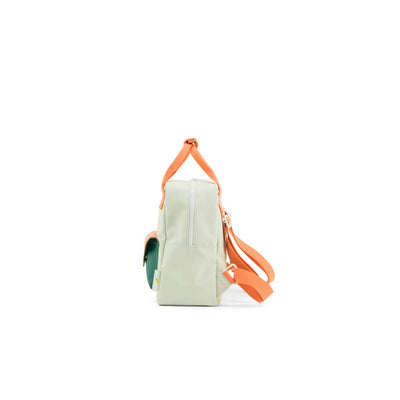 Small Powder Blue Backpack Envelope - Kids Edition