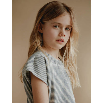 Lou Shell Top - Stripe - Petits Vilains,  a designer children shoes and accessories brand based in Barcelona, Spain. Carried by Kids Edition, the best online designer children clothing boutique based in Vancouver, Canada.