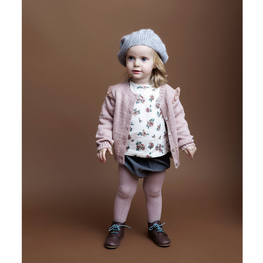 Knit Beret - Grey - Kids Edition