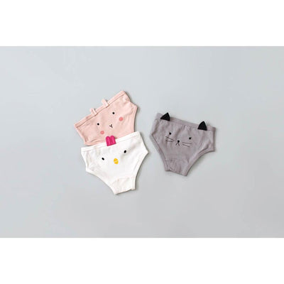 Girlfriend Underwear Set Pack Of 3 - Kids Edition
