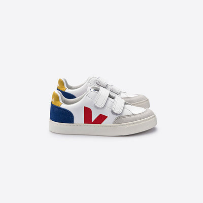 V-12 Multico Indigo - Veja,  a designer children shoes and accessories brand based in Paris, France. Carried by Kids Edition, the best online designer children clothing boutique based in Vancouver, Canada.