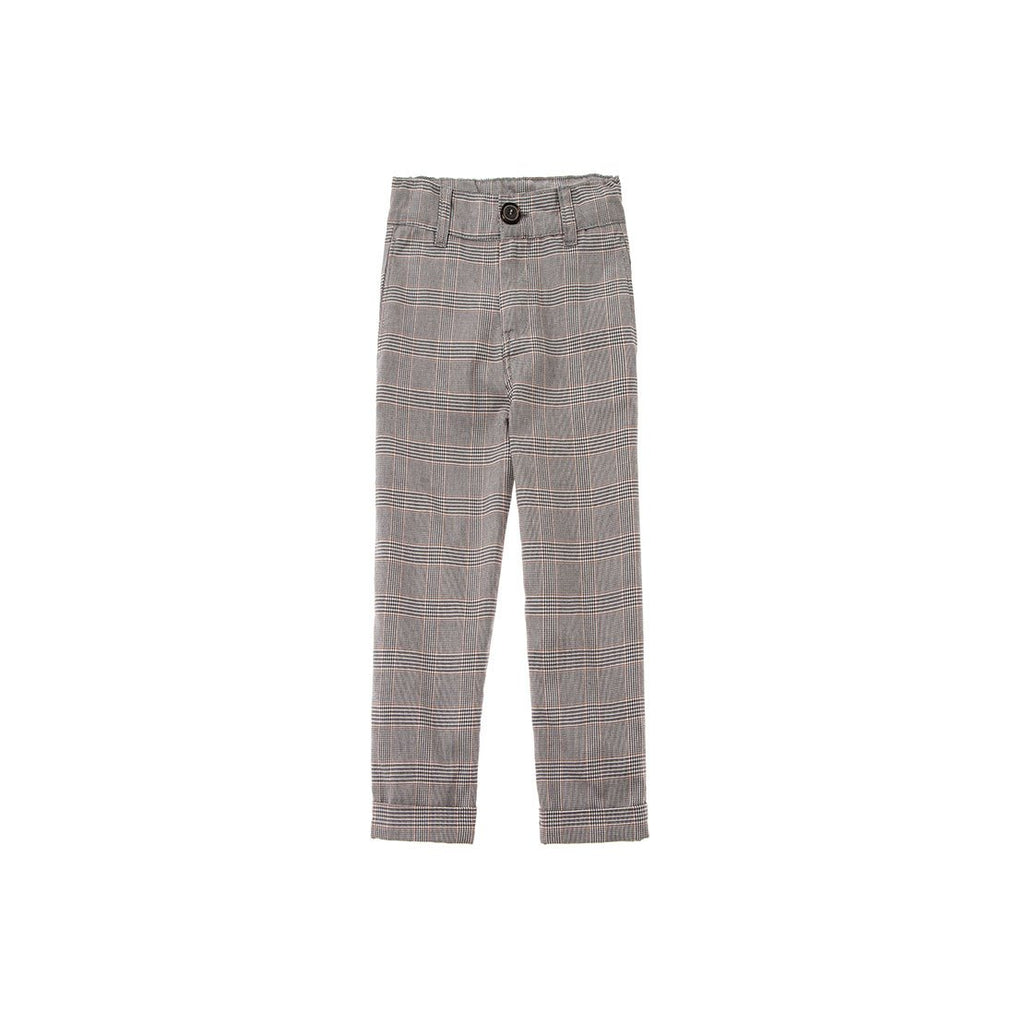 Kid Plaid Trousers - Kids Edition