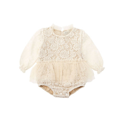 Vintage Lace Body with Tulle Skirt - Kids Edition