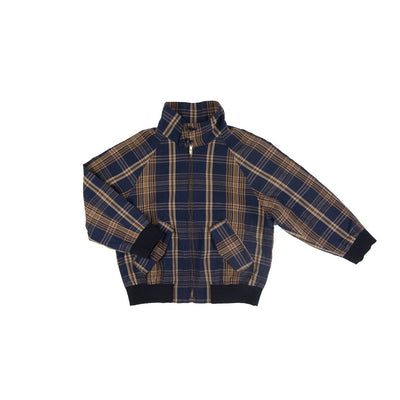 Dark Madras Drizzler Jacket - Kids Edition