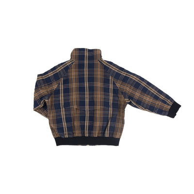 Dark Madras Drizzler Jacket - Arch & Line, Carried by Kids Edition, Vancouver, Canada