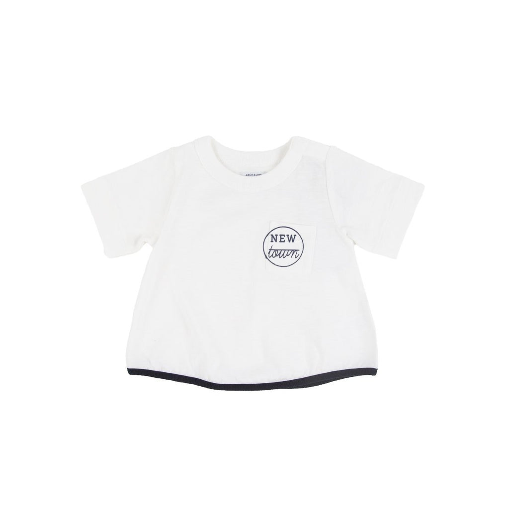 Baby Slub New Town 5/S Tee - Kids Edition