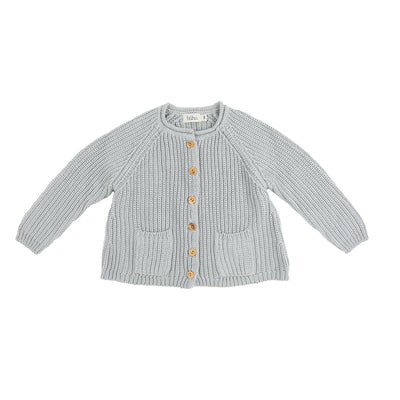 Peter Knit Cardigan - Cloud - Kids Edition