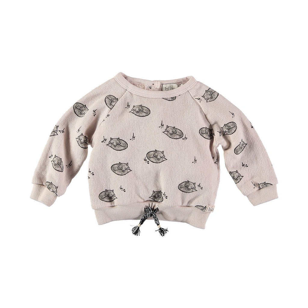 Elliot Foxes Sweater - Dust Rose - Kids Edition