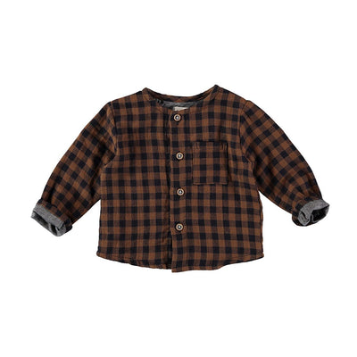 Simon Buttoned Shirt - Vichy - Kids Edition