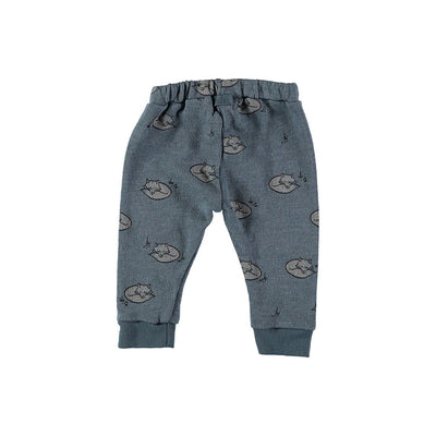 Sol Foxes Legging - Ocean Blue - Kids Edition