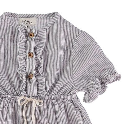 Laura Baby Mini Stripes Voile Dress - Kids Edition