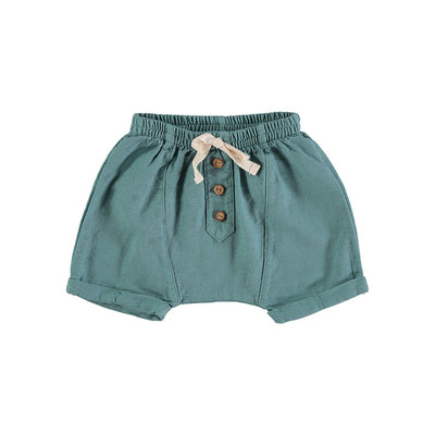Lucas Baby Short Pant - Mint - Buho, a designer children shoes and accessories brand based in Barcelona, Spain. Carried by Kids Edition, the best online designer children clothing boutique based in Vancouver, Canada.