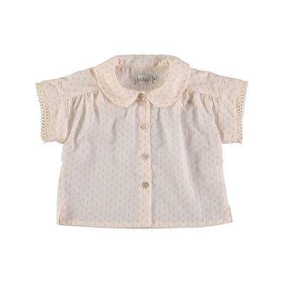 Martina Baby Voile Flower Blouse - Rose - Kids Edition