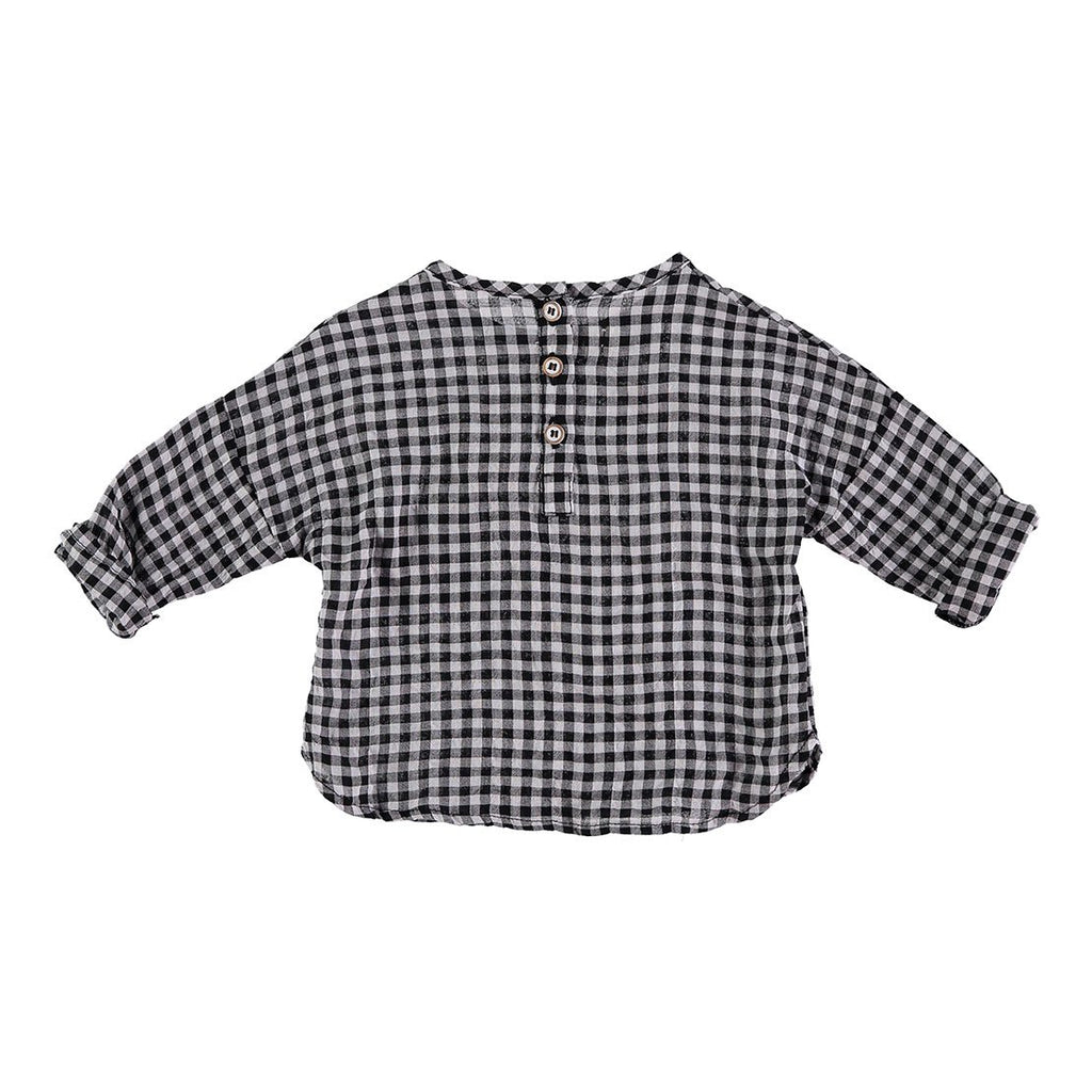Teo Vichy Back Buttoned Shirt - Kids Edition