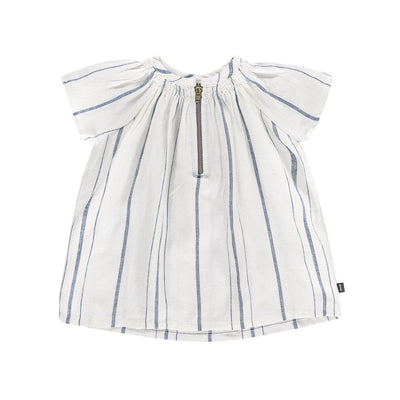 Blue Stripe Dress - Imps and Elfs, Carried by Kids Edition, Vancouver, Canada